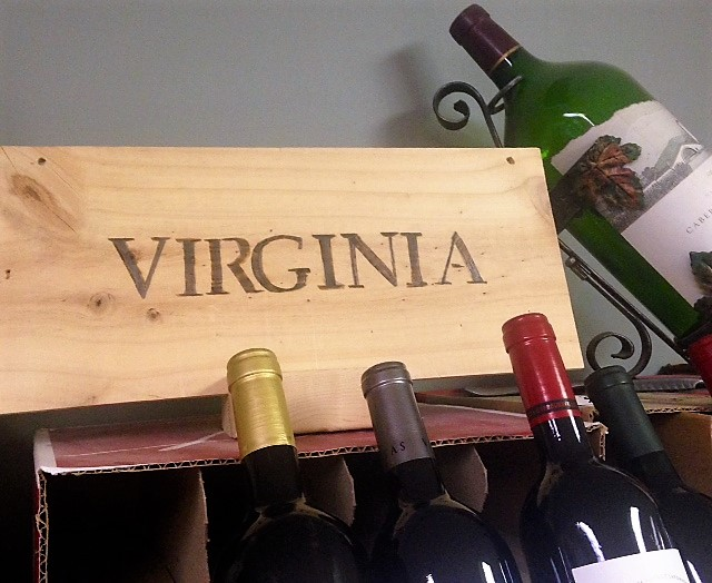 mr bills VA wine sign